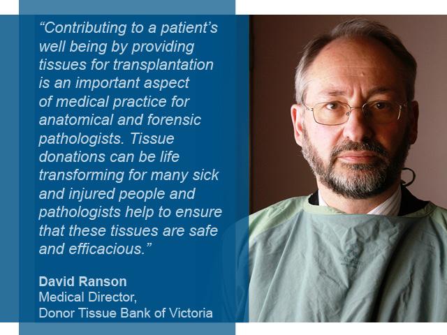 David Ranson Medical Director DTBV
